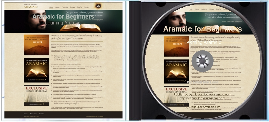 Learning Aramaic for Beginners DVD